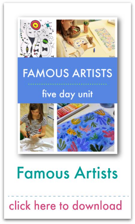 famous artists unit